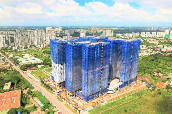Hình ảnh tổng thể dự án Q7 Saigon Riverside Complex
