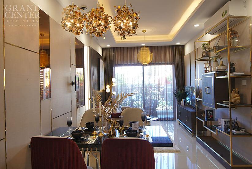 căn hộ mẫu Grand Center Quy Nhon