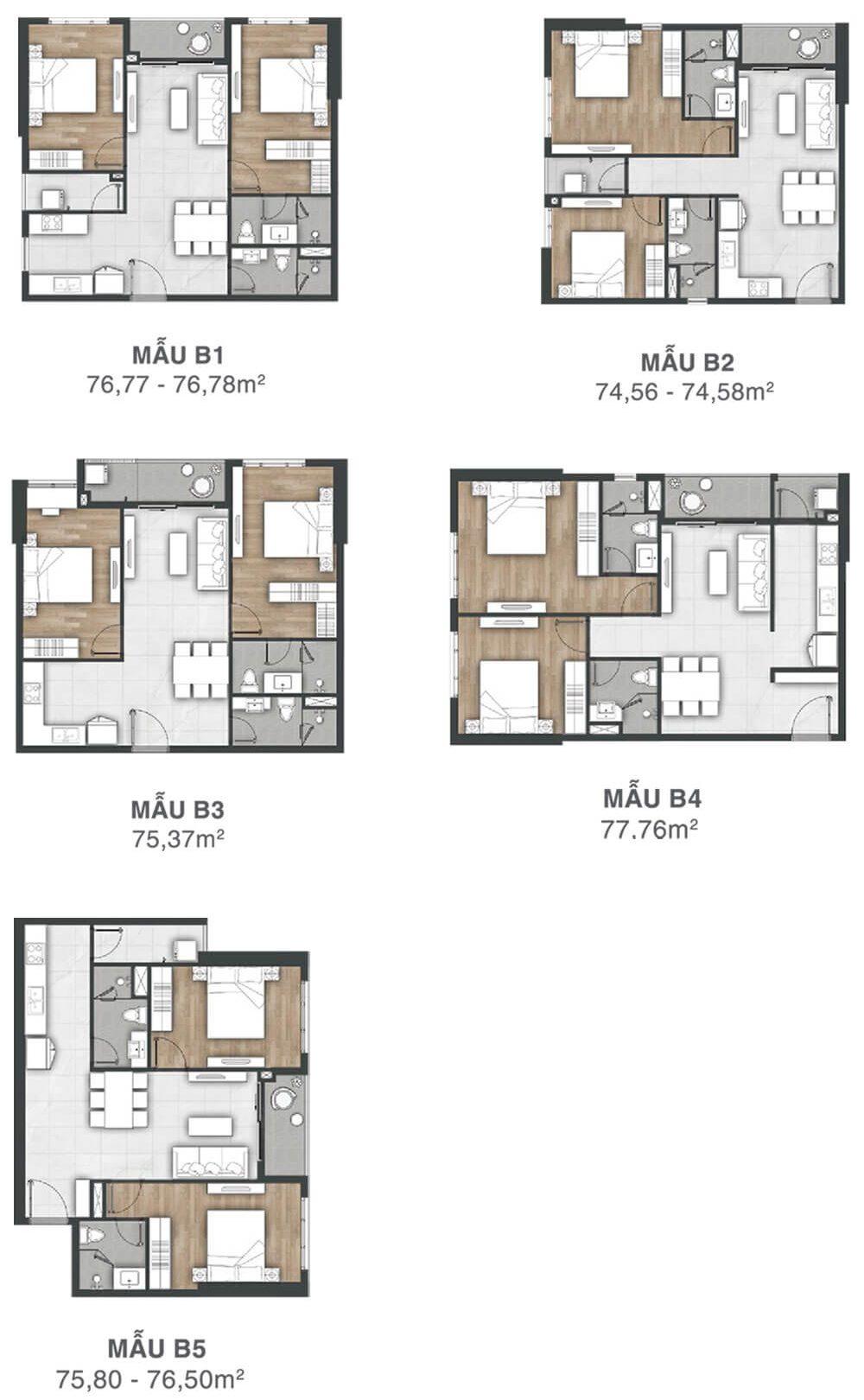thiết kế căn hộ dự án Vung Tau Pearl