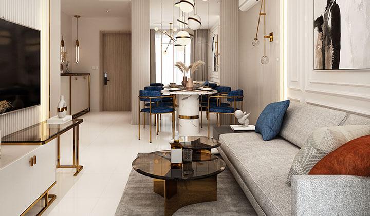 thiết kế căn hộ Moonlight Centre Point